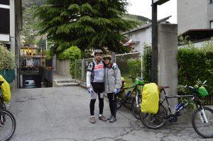 Frente do Hotel Al Caminetto, Aosta.