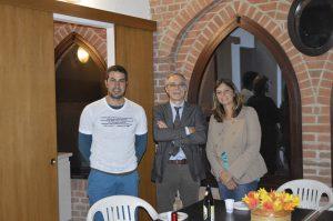 O prefeito de Orio Litta, Sr. Pier Luigi, nos prestigia.